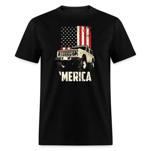 Bronco 'Merica Truck - Men's T-Shirt