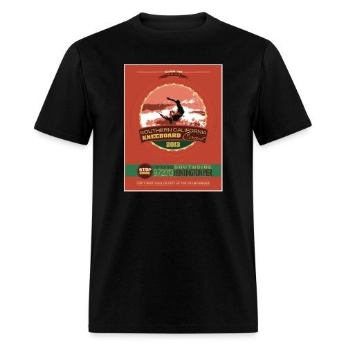 retro stop one lite jpg - Men's T-Shirt