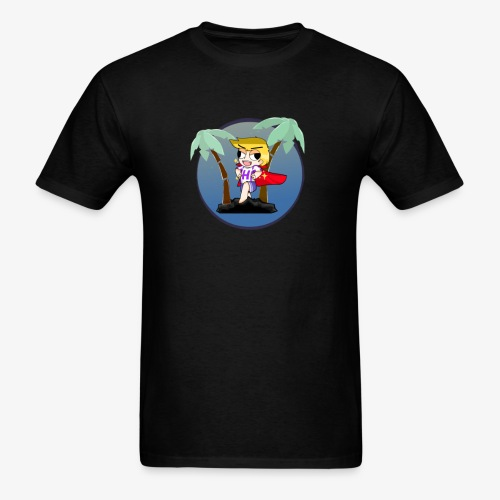 Hans on a vacation - Men's T-Shirt
