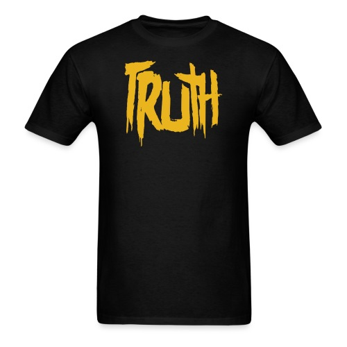 TruthLogo01 Yellow png - Men's T-Shirt