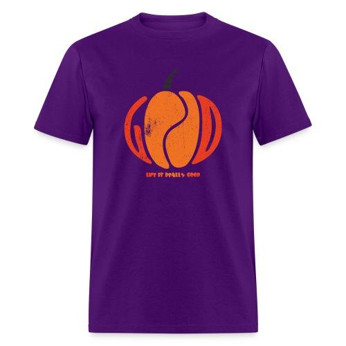 Life Is Really Good Pumpkin - Men's T-Shirt