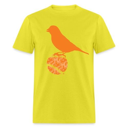 OrioleFlagonBlack - Men's T-Shirt