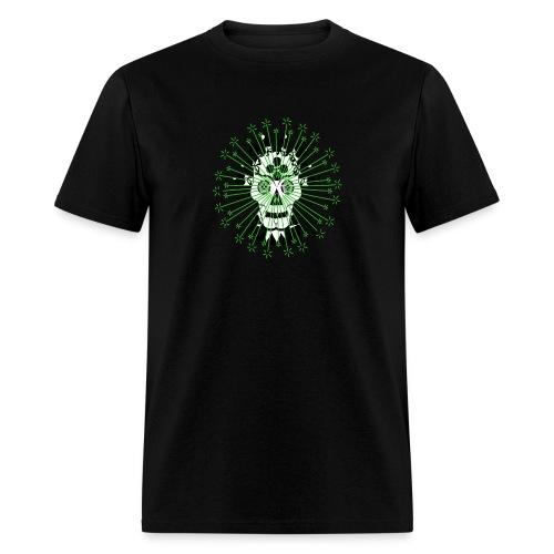 Day Of The Dead Scull Design - Men's T-Shirt