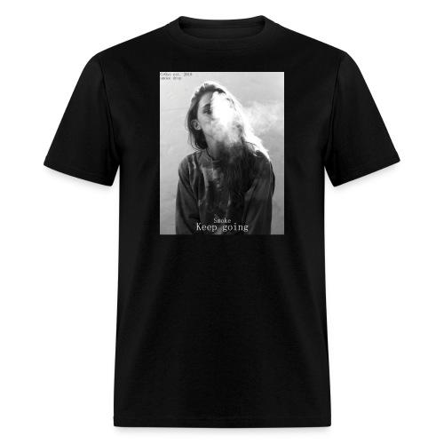 Cr0ss Smoke drop - Men's T-Shirt