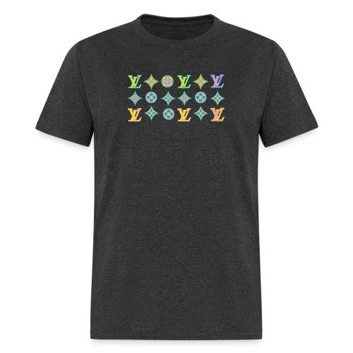 custom coloured LV pattern. - Men's T-Shirt
