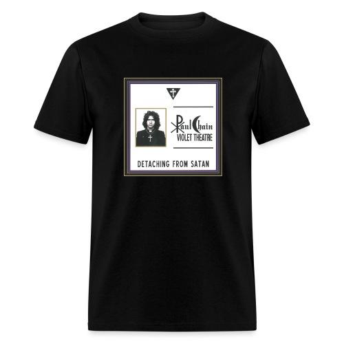 Detaching from Satan - Men's T-Shirt