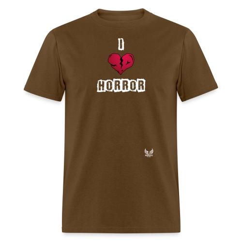 I heart horror 01 png - Men's T-Shirt