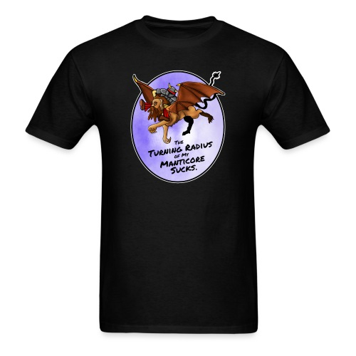 Manticore Sucks - Men's T-Shirt