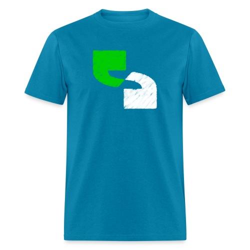 SecTalks Square Chalk - Men's T-Shirt