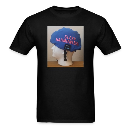 Sleep Harmonizer Helmet Model - Men's T-Shirt