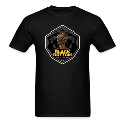 Black Bottom Gun Club - Men's T-Shirt