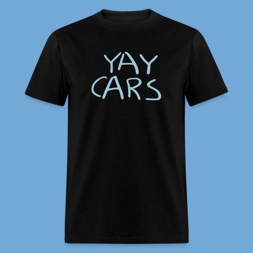 Yay cars. - Men's T-Shirt