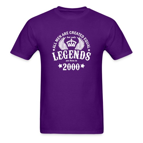 Legends are Born in 2000 - Men's T-Shirt