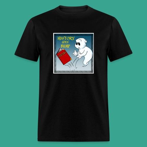 History Goes Bump Logo - Men's T-Shirt