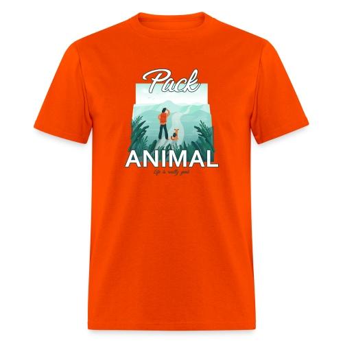 Life Is Really Good Pack Animal - Men's T-Shirt
