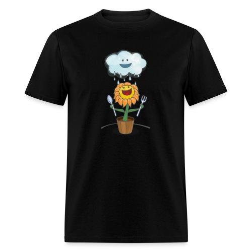 Cloud & Flower - Best friends forever - Men's T-Shirt
