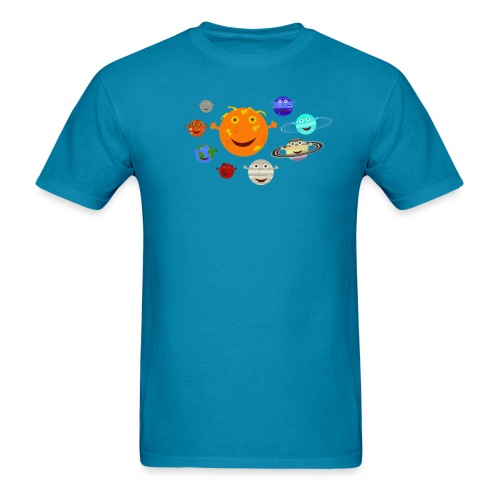 The Solar System - Men's T-Shirt