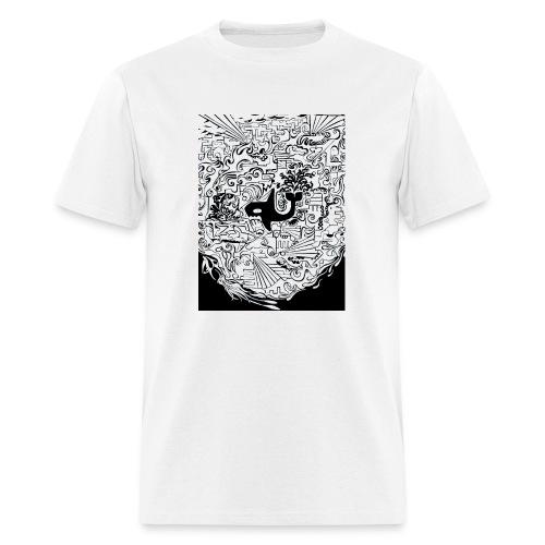 night hunt negative - Men's T-Shirt