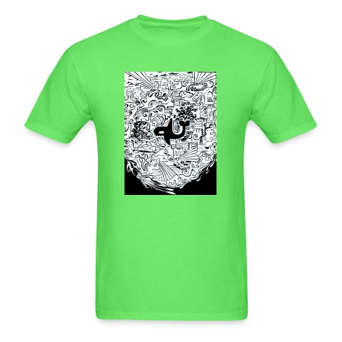 night hunt negative - Men's T-Shirt
