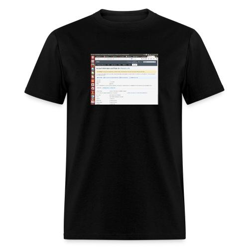 Screenshot from 2016 09 07 02 14 53 - Men's T-Shirt