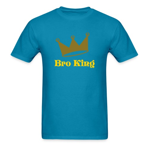 bro king - Men's T-Shirt