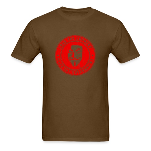 red love thy country - Men's T-Shirt