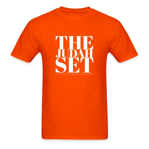 THEJUDAHSET LOGO (Blocked) - Men's T-Shirt
