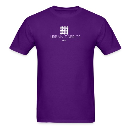 UrbanFabrics WHT png - Men's T-Shirt