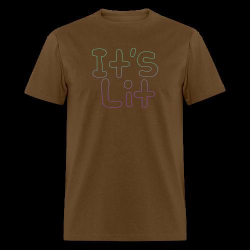2-Tone It's Lit! Design - Men's T-Shirt