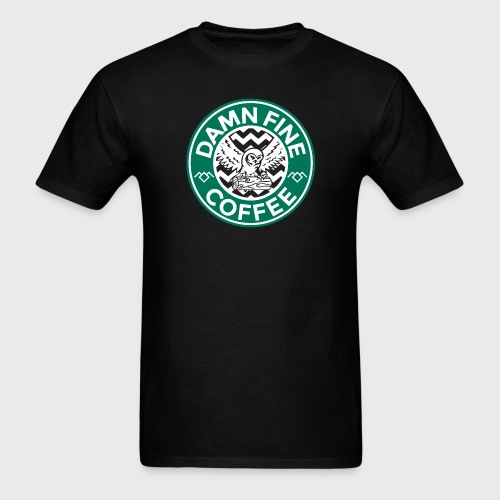 Twin Peaks Starbucks - Men's T-Shirt