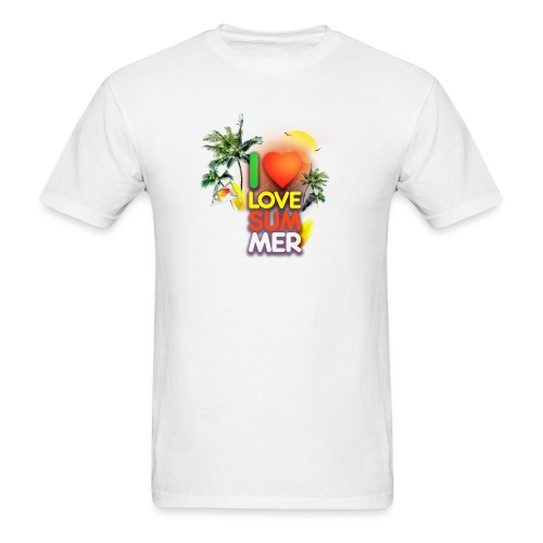 I love summer - Men's T-Shirt