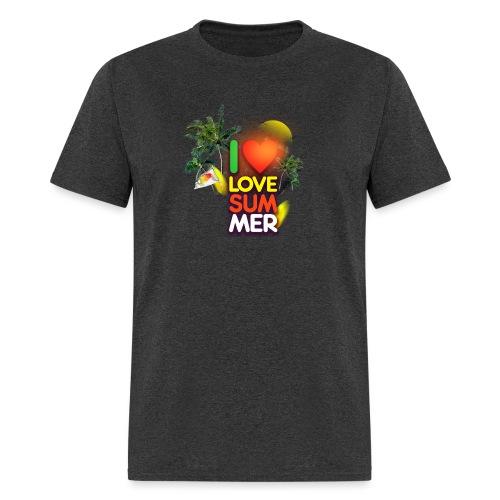 I love summer - Men's T-Shirt