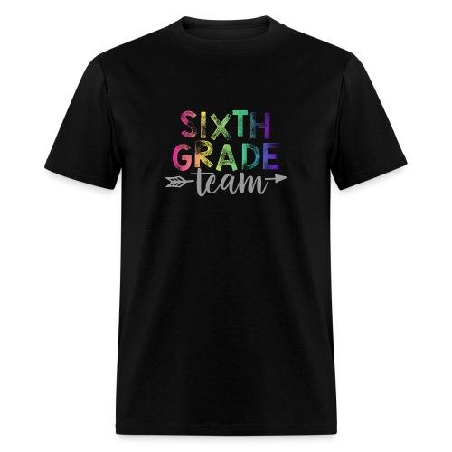 Sixth Grade Team Teacher T-Shirts Rainbow - Men's T-Shirt