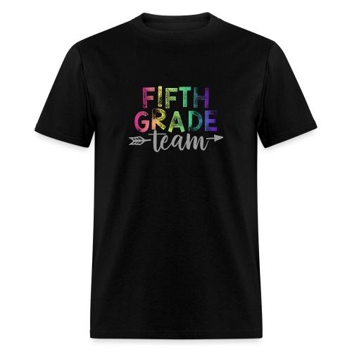 Fifth Grade Team Teacher T-Shirts Rainbow - Men's T-Shirt