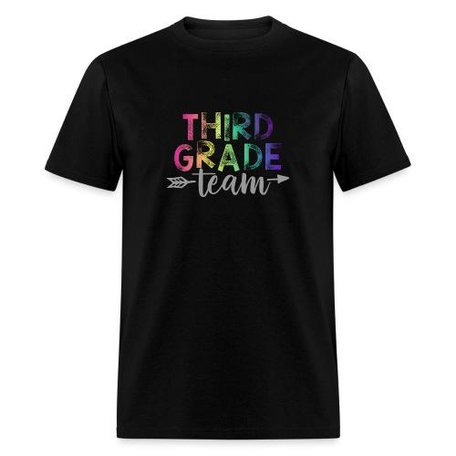 Third Grade Team Teacher T-Shirts Rainbow - Men's T-Shirt