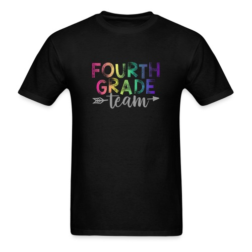 Fourth Grade Team Teacher T-Shirts Rainbow - Men's T-Shirt