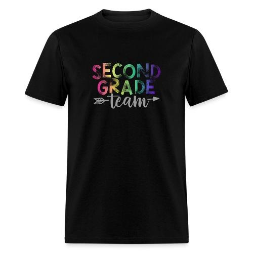 Second Grade Team Teacher T-Shirts Rainbow - Men's T-Shirt