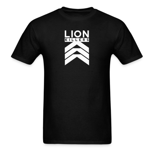 Lion Killers Front Logo - Dark Range - Men's T-Shirt