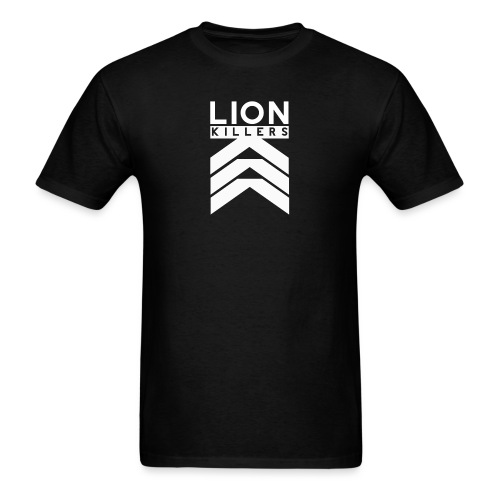 Lion Killers Front Logo - Dark Range - Men's T-Shirt