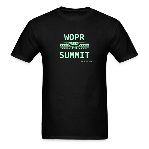 WOPR Summit 0x0 - Men's T-Shirt