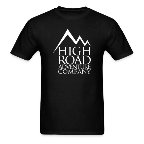 High Road Adventure Company Logo - Men's T-Shirt