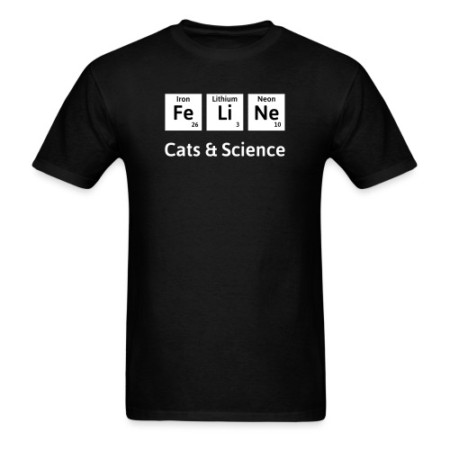 Cats & Science - Men's T-Shirt