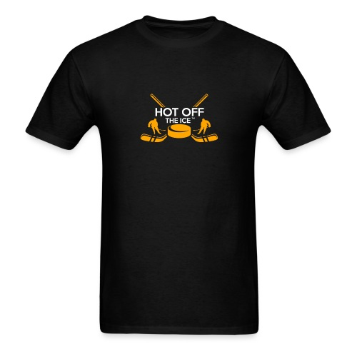 Hot Off The Ice - Men's T-Shirt