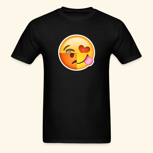 E Tees , Unique , Love , Cry, angry - Men's T-Shirt