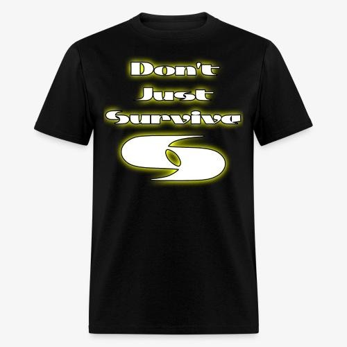 Slogan W/ Logo - Men's T-Shirt