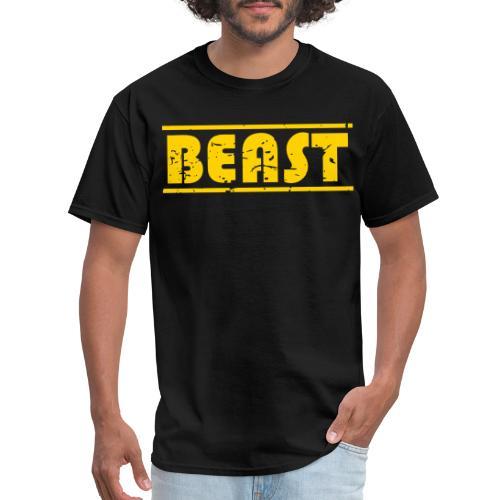BEAST athlete distressed - Men's T-Shirt