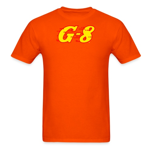 G 8 Logo Yellow - Men's T-Shirt