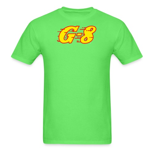 G 8 Logo Yellow - Men's T-Shirt