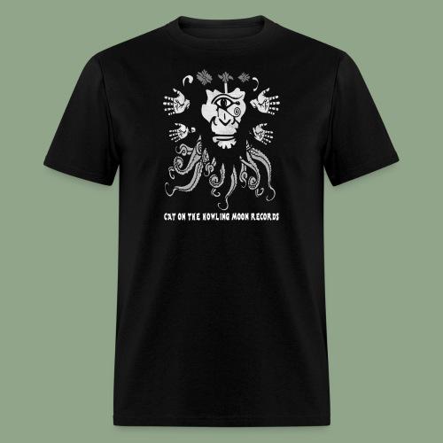 Cat on the Howling Moon Records - Logo 2 (shirt) - Men's T-Shirt