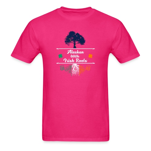 ALASKAN WITH IRISH ROOTS - Men's T-Shirt